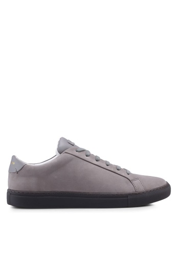 KG Kurt Geiger grey Donnie Suede Sneakers 205B6SH6FF0AA0GS_1