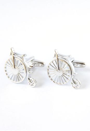 Splice Cufflinks Penny Farthing Bicycle Cufflinks SP744AC00DQDSG_1