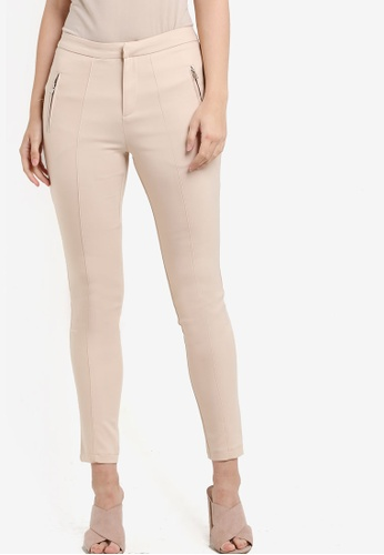 VERCATO beige Milia Skinny Pants VE999AA82BJLMY_1