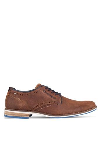 Dune London brown Brewer Shoes DU588SH0RE11MY_1