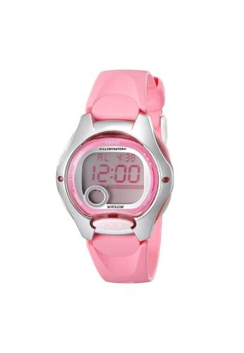 Casio pink CASIO GENERAL LW-200-4BVDF DIGITAL WOMEN'S WATCH 31894AC4FF83D6GS_1