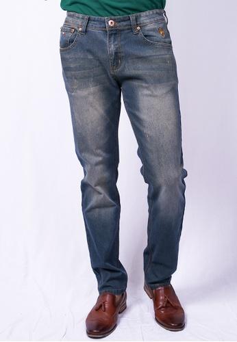 MILANO blue Milano Jeans Long Pants Straight 992FDAA13DBAC7GS_1