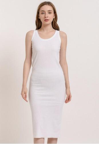 Bevenou white Bevenou Jolie Inner Sleeveless Dress 1CE89AAD4E8E1BGS_1