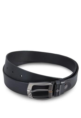 Lumberjacks 扣環皮革腰帶, 飾品配件, 飾品esprit手錶專櫃配件