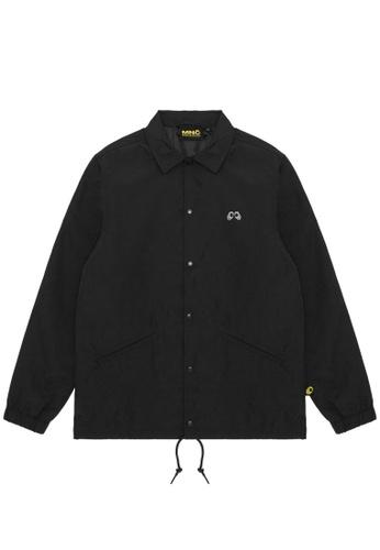 Mini cream black MNC Logo coach jacket 77062AAD2ED865GS_1