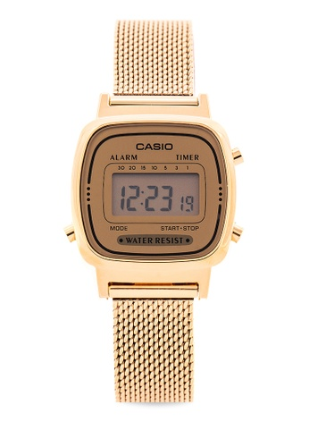 8d9bd7043 Shop Casio Casio Digital Watch LA670WEMY-9DF Online on ZALORA ...