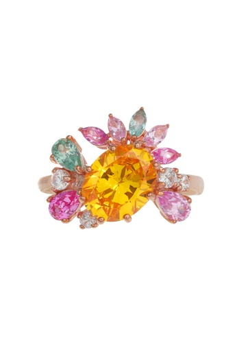 Arte Madrid pink and yellow and green Arte Madrid Tropical Dream Tropical Celebration Ring A77EFAC01BA961GS_1