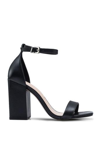 ALDO black Nydoawia Open Toe Ankle Strap Block Heels 2902DSHCE82C7FGS_1