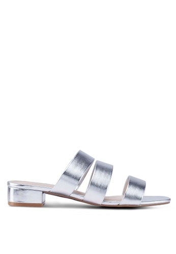 c0cb0cb8fc39 Buy Dorothy Perkins Wide Fit Silver Stormy Sandals