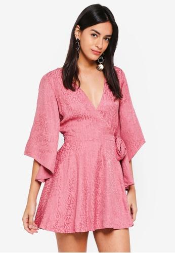 Finders Keepers pink Heatwave Mini Dress E2123AA1224F1FGS_1