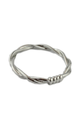 Kimberley silver Twisted Metal Cuff KI026AC93NGSPH_1