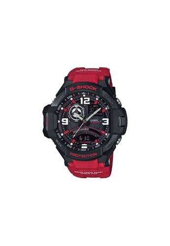 Casio red CASIO G-SHOCK WATCH GA-1000-4BDR 34CB6ACF40CFCDGS_1