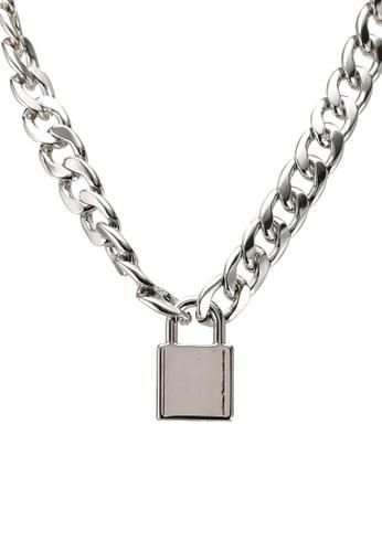 ALDO silver Weverlaan Necklace 71B70AC9C88A7FGS_1