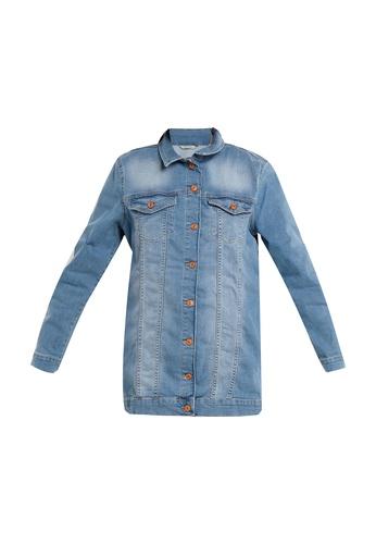 LC Waikiki blue Jean Jacket C36D1AA06ED25CGS_1