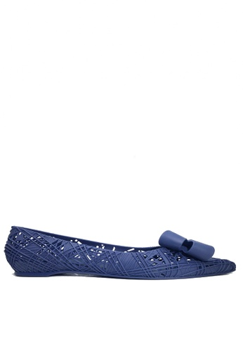 Twenty Eight Shoes blue Jelly Fretwork Hidden Heel Rain  and Beach Shoes VRM738 F21ECSH2B33469GS_1