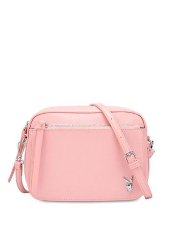 PLAYBOY BUNNY 粉紅色 Women's Sling Bag / Shoulder Bag / Crossbody Bag 9AD77ACA6D7825GS_1