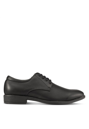 Knight black Lace Up Formal Shoes KN875SH0S9RPMY_1