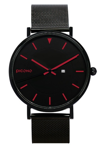 PICONO Watches black Rgb Collection Quickly Release Stainless Steel Strap Watch PI771AC2VUSLHK_1