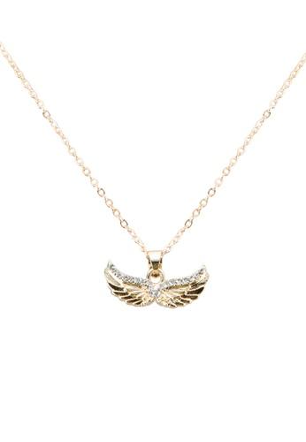 Buy reds revenge twin wings pendant necklace online on zalora singapore reds revenge gold twin wings pendant necklace re144ac0sj3cmy1 aloadofball Choice Image
