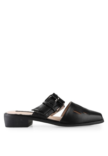 Mandy's black Mandy's Shopper Black Sandals MA947SH60CRVID_1