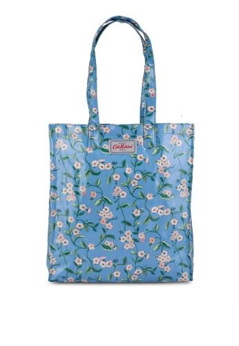 Cath Kidston blue Forget Me Not Shiny Bookbag F7CF7ACD214661GS_1