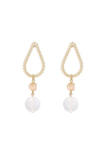niko and ... white Statement Earrings E4690AC6E2A49AGS_1