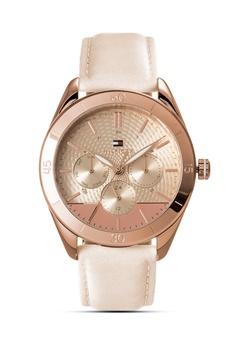 b424a9da Tommy Hilfiger Watches pink Women's Leather Strap Watch C7C09AC0882BC9GS_1