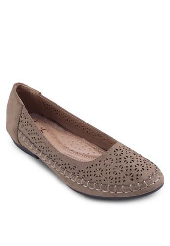 雕花編織平底鞋, 女鞋, 芭esprit outlet 旺角蕾平底鞋