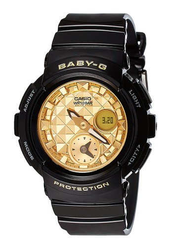 Baby-G black Casio BABY-G Jam Tangan Wanita - Black Gold - Resin - BGA-195M-1ADR 6B2F9ACEFF8CDCGS_1