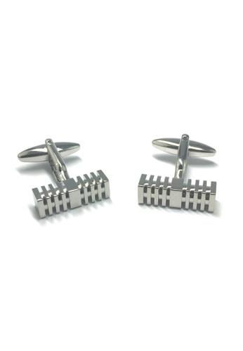 Splice Cufflinks Long rectangular Cufflinks SP744AC09ACGSG_1