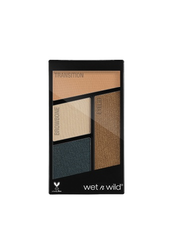 Wet N Wild Wet n Wild Color Icon Eyeshadow Quad - Hooked On Vinyl 161B4BE8BF64E0GS_1