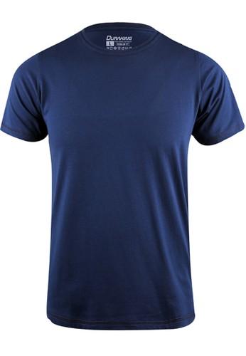 Duraking blue Duraking Kaos 100% Cotton SUPIMA Daily Wear Navy 7B5FCAA778B835GS_1
