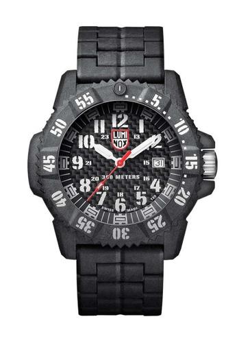 Luminox black Luminox Carbon Seal Carbon Compound Watch 5C919AC47A8CA5GS_1