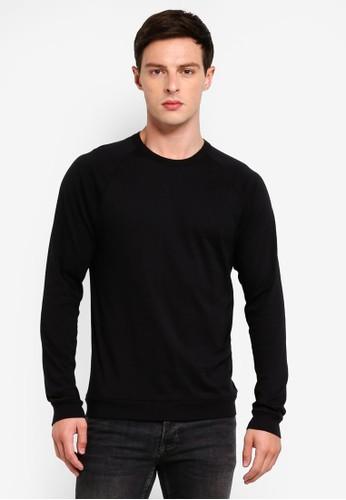 J.Crew black Pima Jersey Long Sleeve Tee 19C97AAD0578F6GS_1
