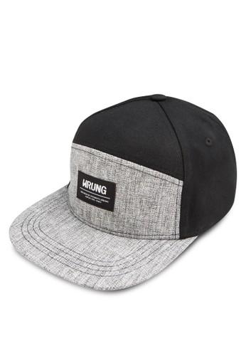 品牌徽章esprit 童裝拼色鴨舌帽, 飾品配件, 飾品配件