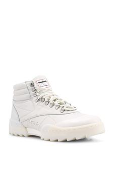 12f1fd44e152 10% OFF Reebok Classic Gigi Hadid X Reebok F S Hi Nova Ripple Shoes S   169.00 NOW S  151.90 Sizes 5 6