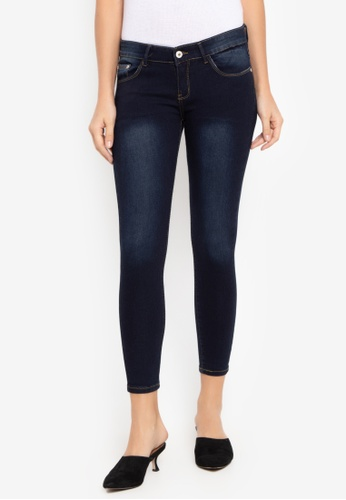 CHILI PEPPER blue Washed Skinny Denim Jeans 965AFAAEF7D02FGS_1