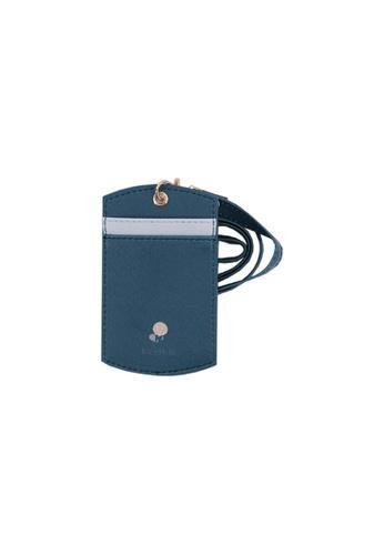 Klosh blue and navy Morandi Collection - Evening Lanyard 4C4FEACFA7BE20GS_1