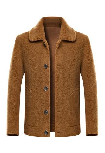 HAPPY FRIDAYS Double Sided Shearling Jacket 95008 925E1AAC5D6BA7GS_1