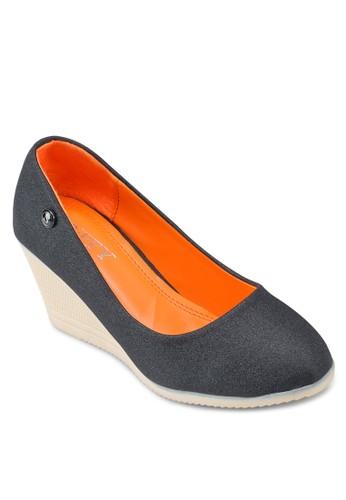 經典esprit outlet 香港圓頭楔型鞋, 女鞋, 厚底楔形鞋
