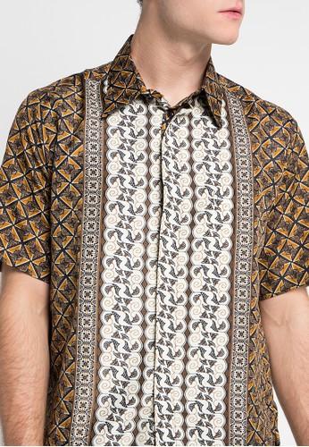Adikusuma Hem Batik Kawung Pita Jual Pakaian Pria