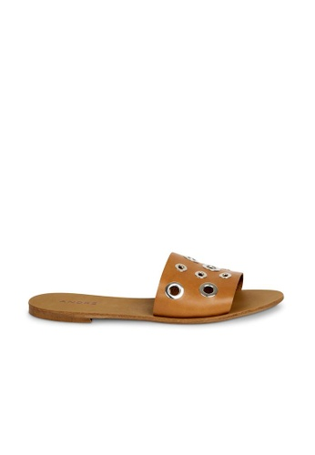 Andre brown ADCACAO Leather Mules AN324SH34GWZSG_1
