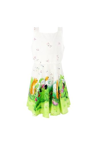 Viva Vida Kids white Miya Dress Carnival 2DE9AKA989CD7AGS_1
