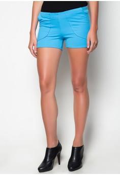 Dolphon Shorts with Combi Fabrics