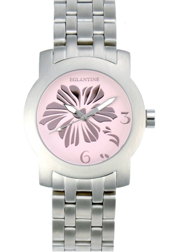 EGLANTINE silver EGLANTINE® Bauhinia Ladies Steel Quartz Watch on Steel Bracelet 37783ACA8B11EFGS_1