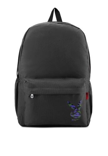 Playboy black Playboy Backpack PL371AC43LSMMY_1