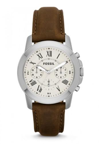 Fossil  GRANT時尚男錶 Fesprit台北門市S4839, 錶類, 紳士錶