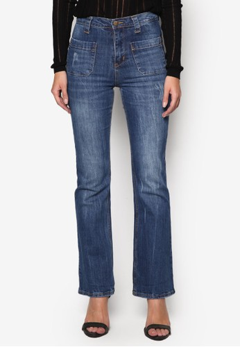 Kickflare Denim Jeans, 服飾, Tomboy Chiesprit手錶專櫃c