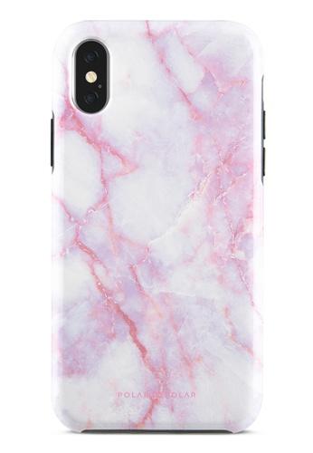 Polar Polar pink Pink White Dual-Layer Tough Case Glossy For iPhone X / XS 65511AC07382C1GS_1