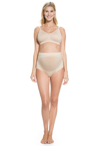 Mayarya black and beige Maternity and Support Brief - Black & Nude (Set of 2) BC898AAACC5917GS_1